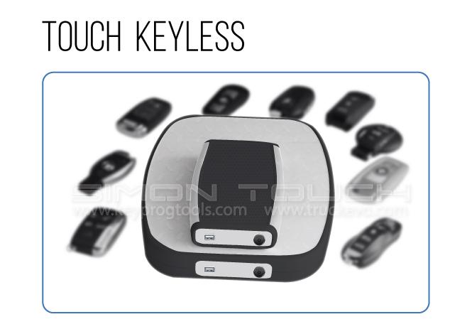 Touch-Keyless-Slider