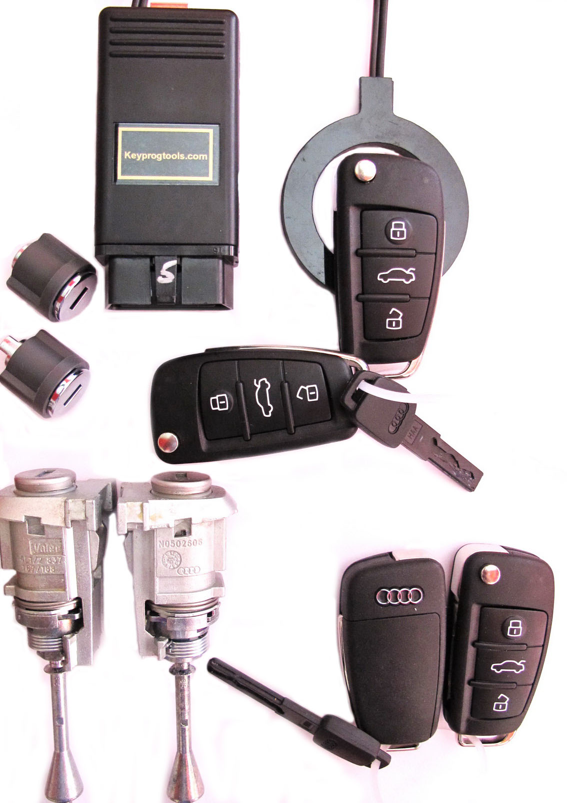 Audi vag key programming tools