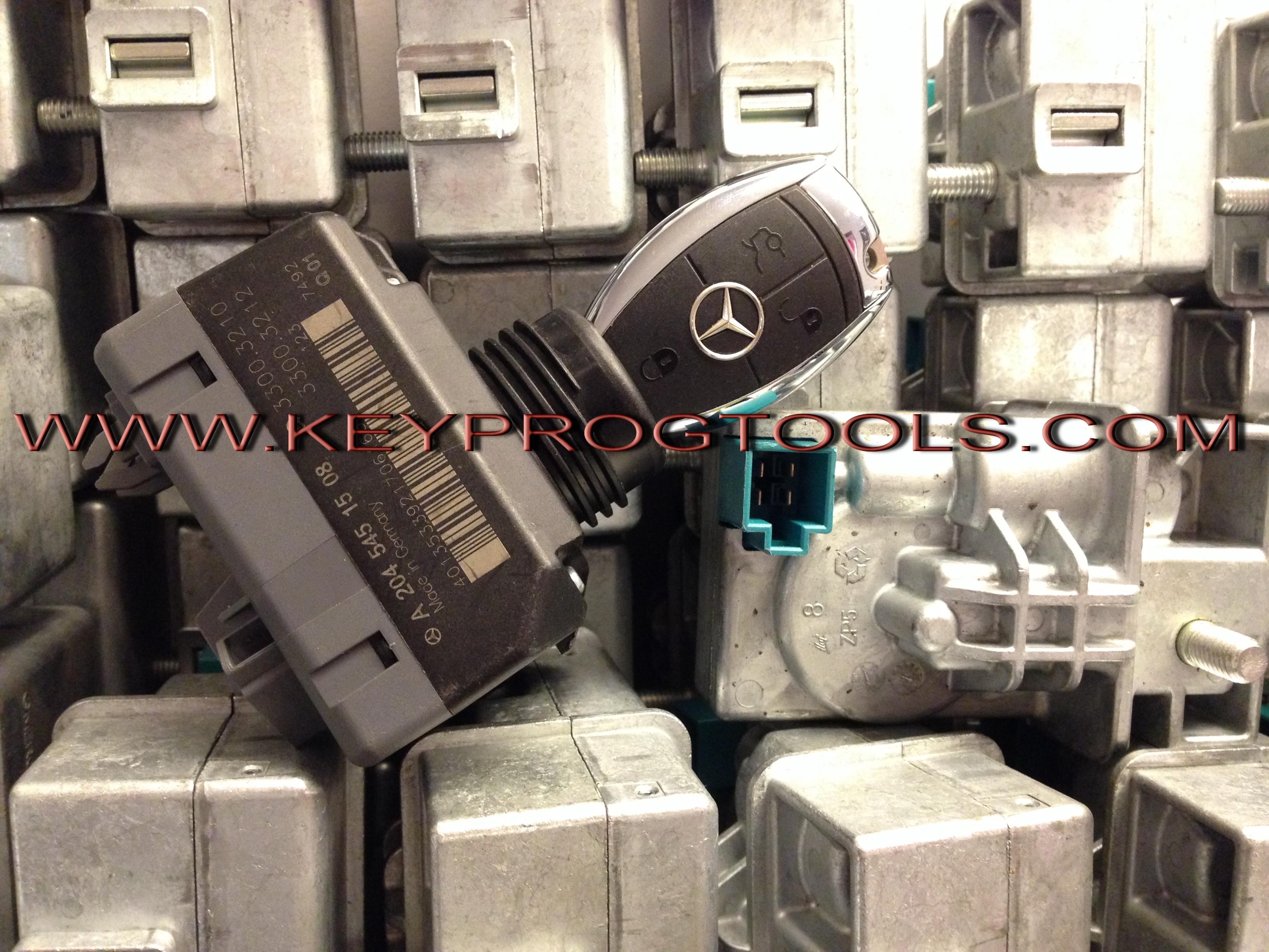 Mercedes Chrome Remote key avdi commander locksmith tools