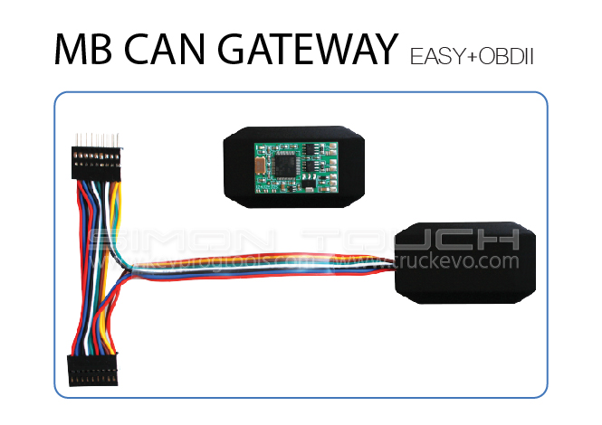 MB-CAN-GATEWAY-EASY+OBDII